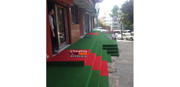 Imported 7 mm Green Grass Carpet